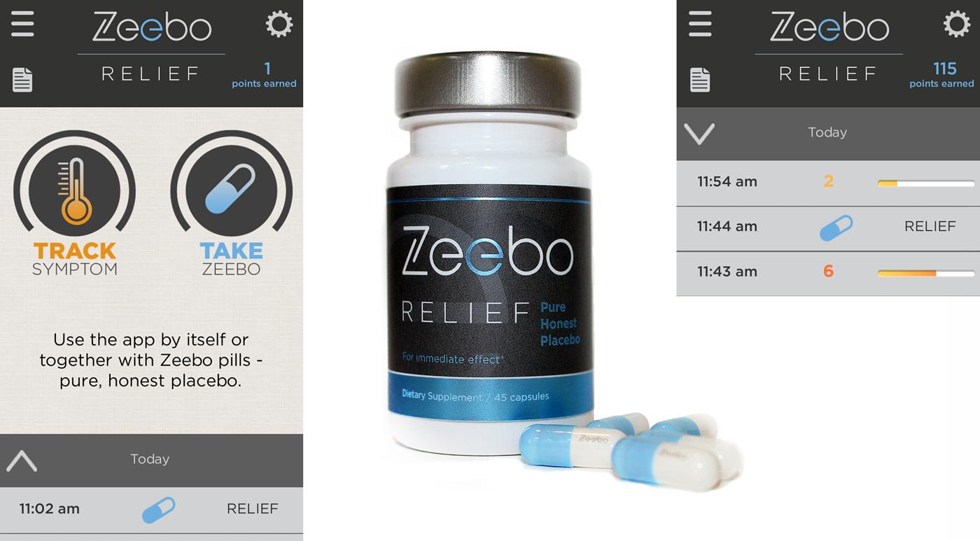 Placebo Pill Research App by Zeebo